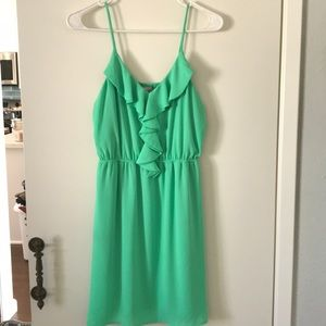 Lime green dress size small